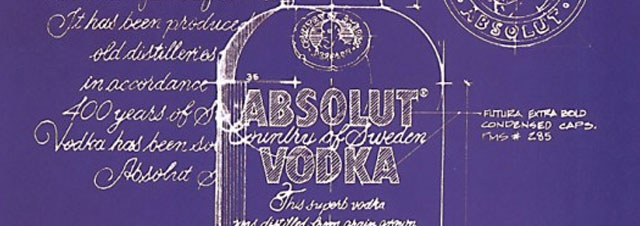Absolut Poster Design