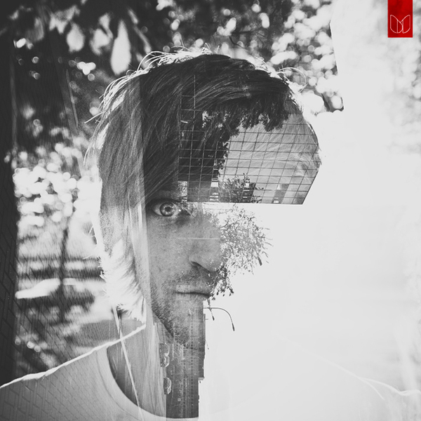Wonderful double exposure portraits