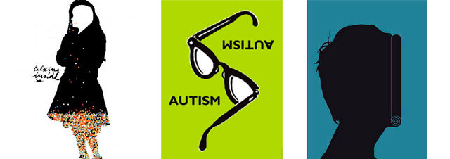 Great Posters on AUTISM ! A 'walking' exhibition