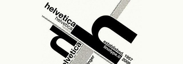 How a Typeface like Helvetica can Inspire Artists!