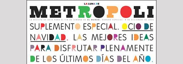 Covers of The Metrópoli Magazine