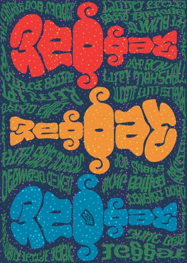 full ambigram poster