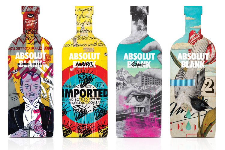 All creativity starts with an Absolut Blank