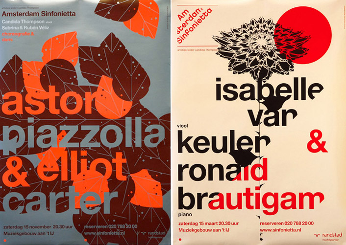 10 Inspiring Posters for Amsterdam Sinfonietta