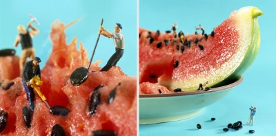 Little people  living in a Spectacular World of Food | Photography