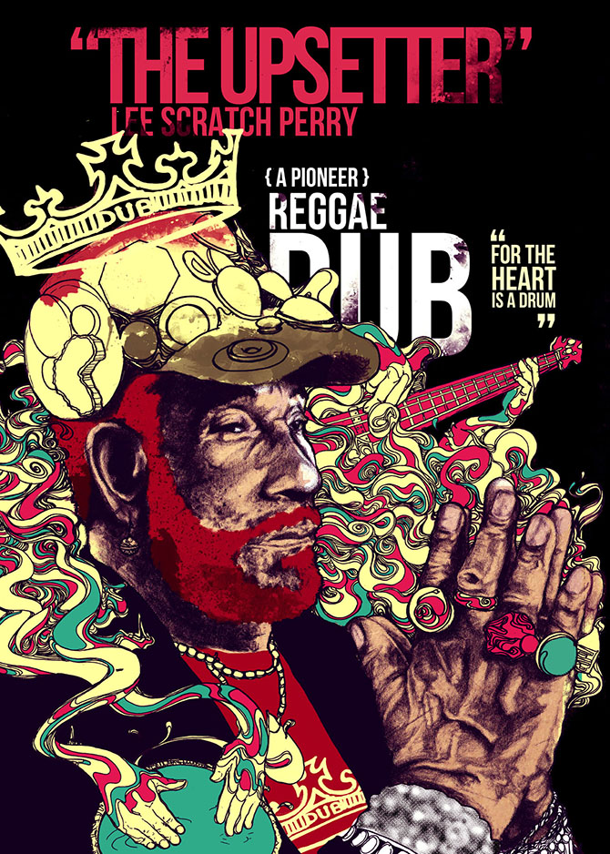 Interview With Artist Taj Francis; 5th Place Winner in The 1st Intl. Reggae Poster Contest 2012