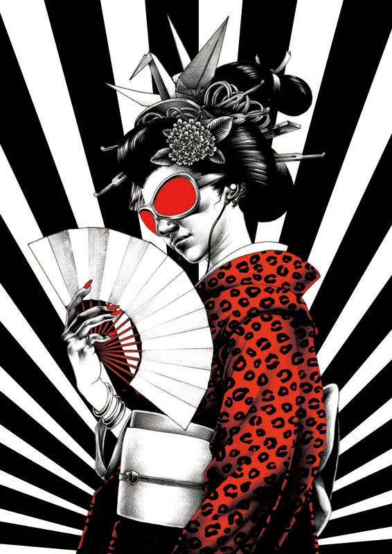 Amazing Manga Illustrations by the Japanese Artist Shohei Otomo