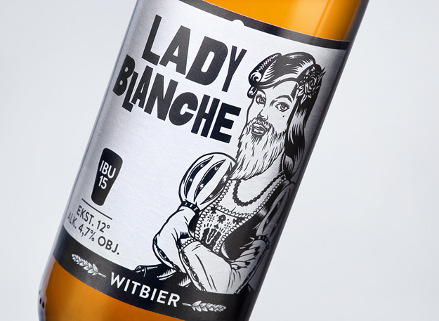Distinguished Illustrations for AleBrowar's Beer Labels