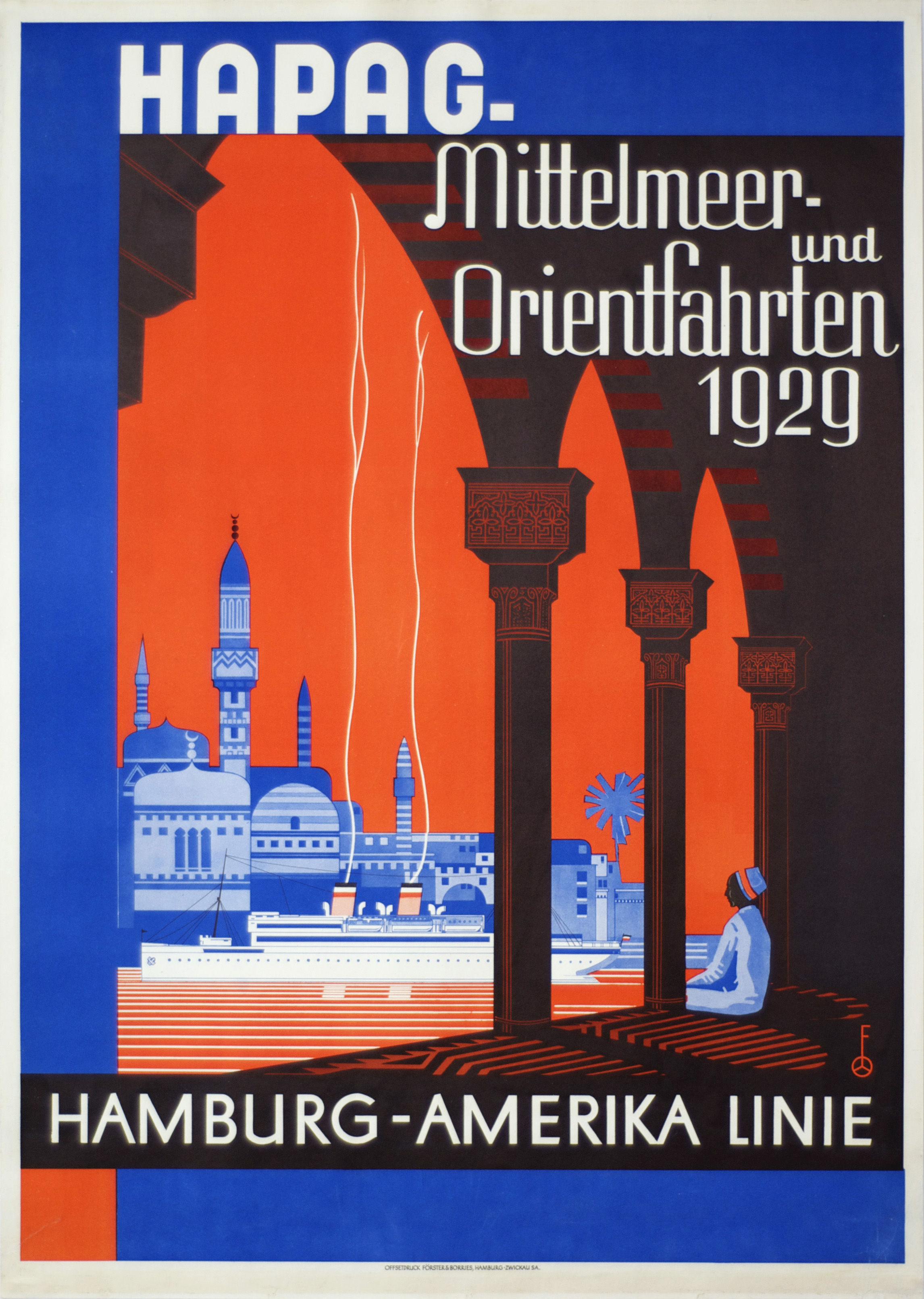 Vintage Travel Posters 1920-1950