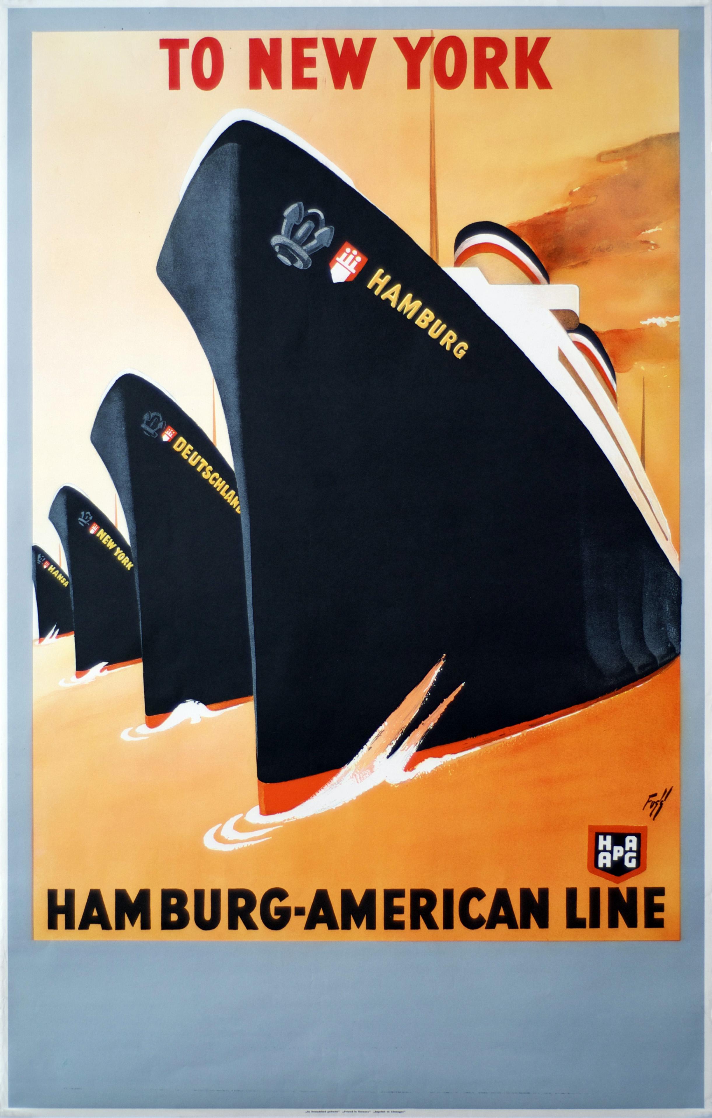 Poster design 1950 - Aage Rasmussen