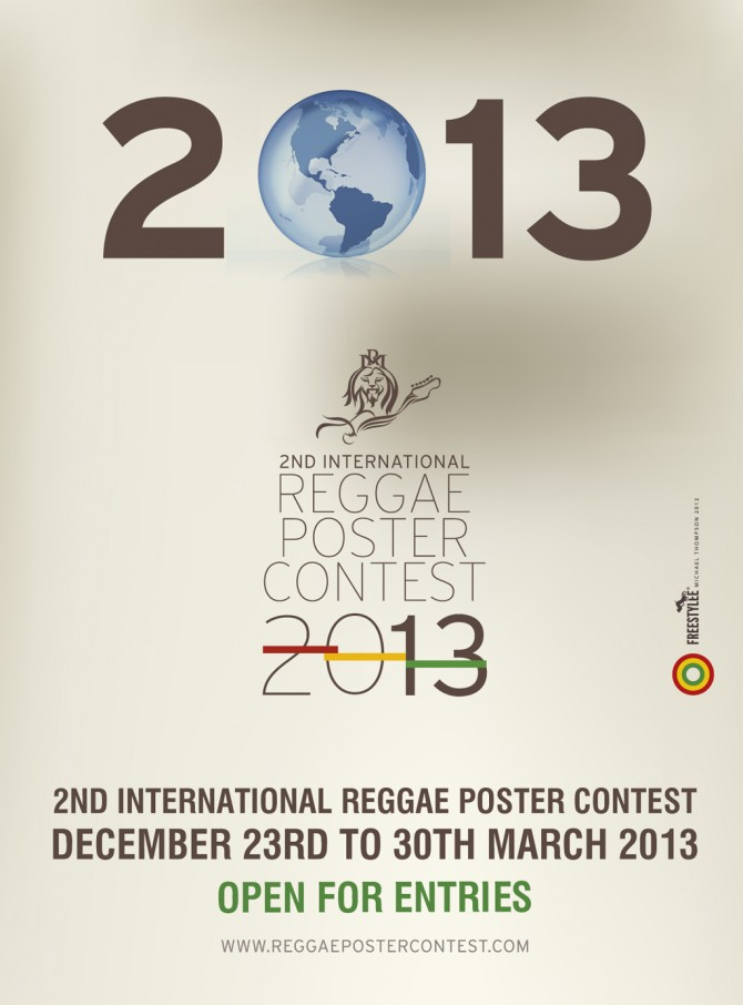Photography Contest Posters The Reggae Poster Contest Will