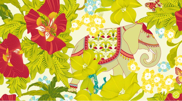 Sabine Reinhart Illustrator and Surface Pattern Designer