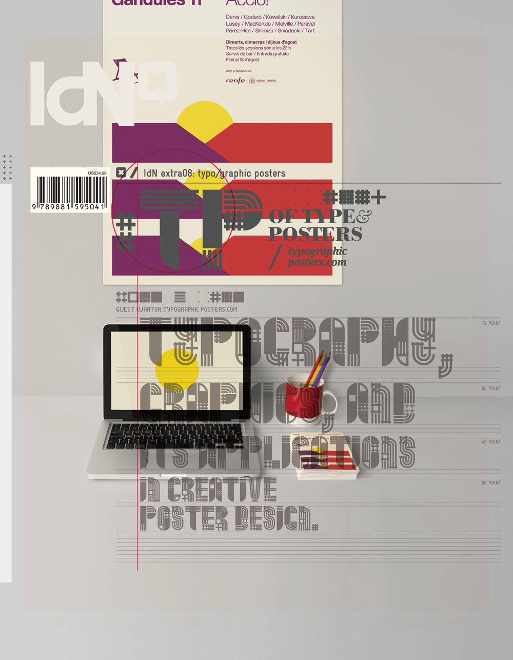 Data Typography, Graphics, and its Application in Creative Poster Design | IdN Extra 08: Typo/graphic Posters