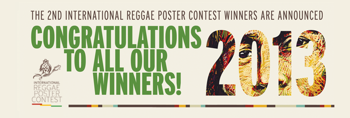 Second International Reggae Poster Contest Announces the Winners!