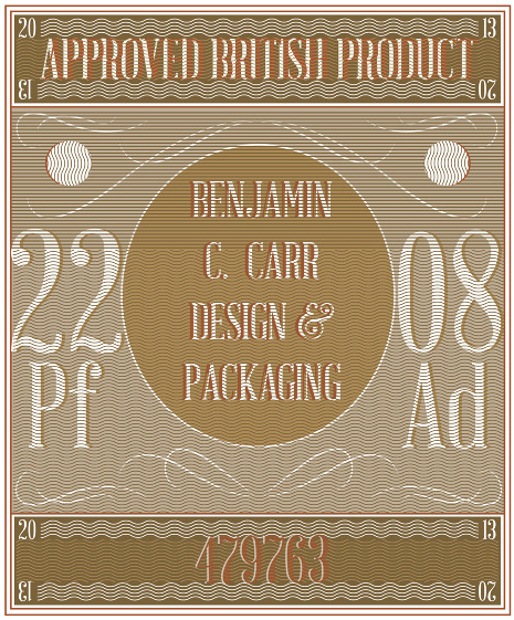Packaging Designer Benjamin Carr