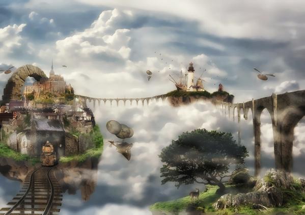 The Surreal World of Luigi Gallo Through Photo Manipulation
