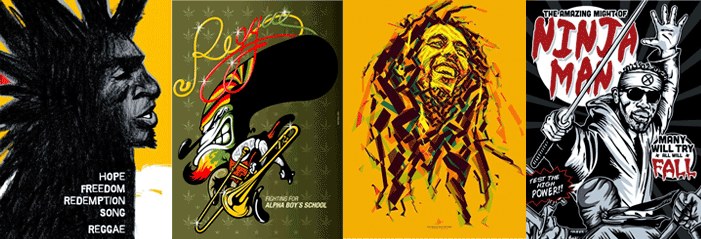 World-A-Reggae Poster Exhibition | The International Reggae Poster Contest shares The Visual Art of Jamaica's Global Impact in Washington D.C.
