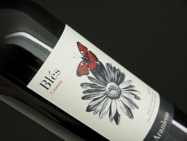 Label  Aranleλn BlΓs Crianza_by CuldeSac