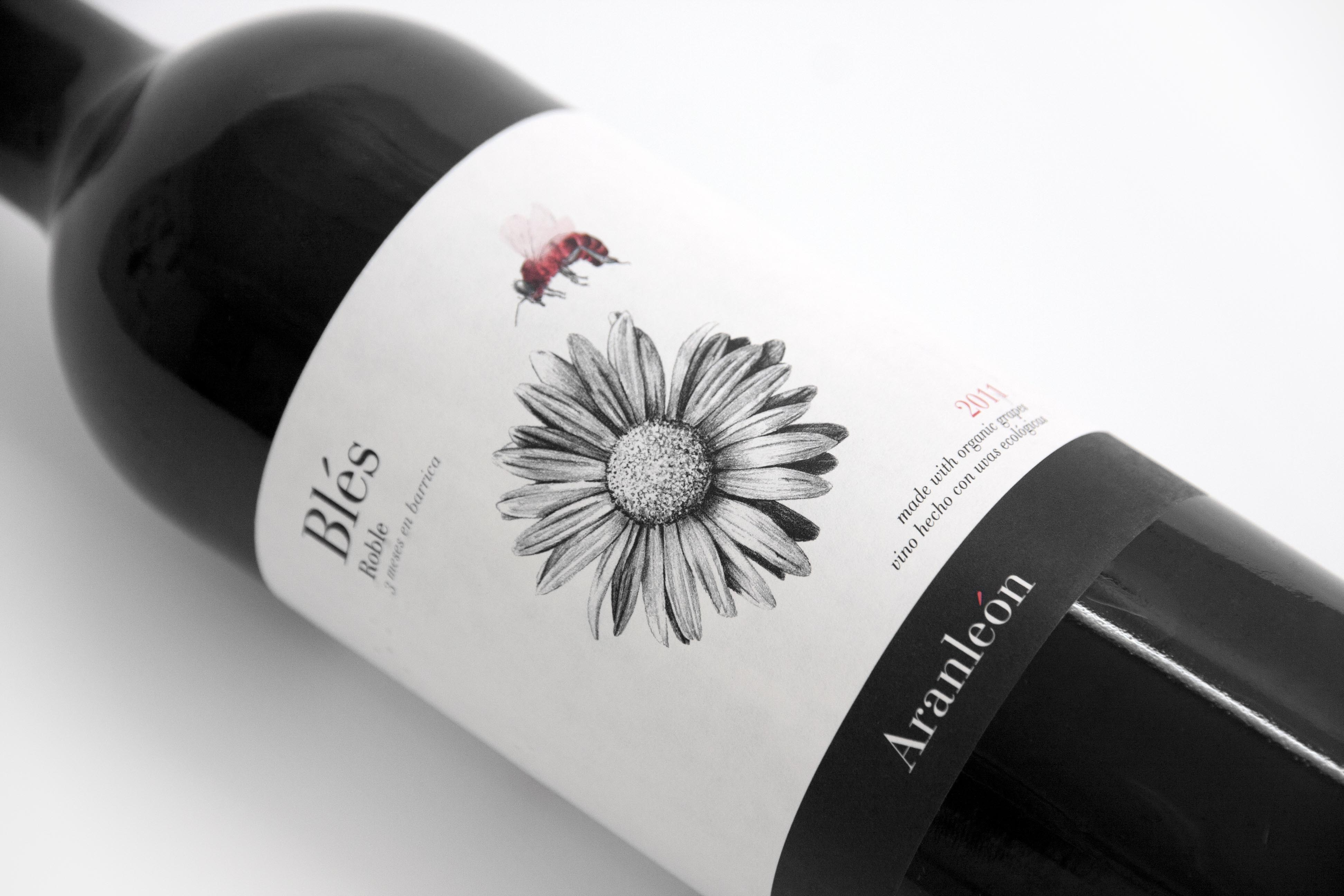 Visual Identity for 'Blés' Organic Wines by CuldeSac™