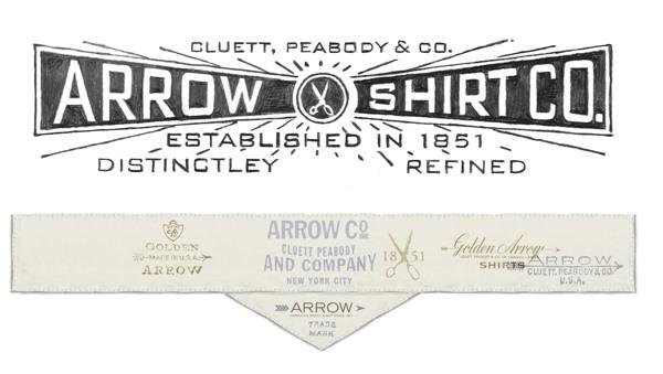 Arrow Cluett Labels and Packaging by Glenn Wolk 01