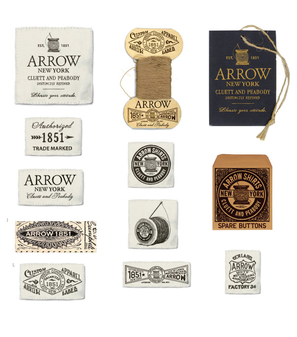 Arrow Cluett Labels and Packaging by Glenn Wolk 03