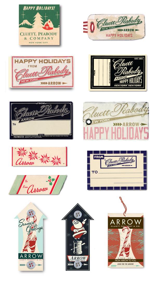 Arrow Cluett Labels and Packaging by Glenn Wolk 12