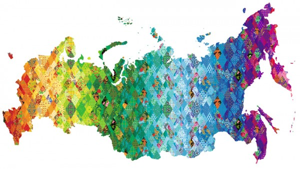 map 600x339 Sochi Olympics banners as quilt inspiration