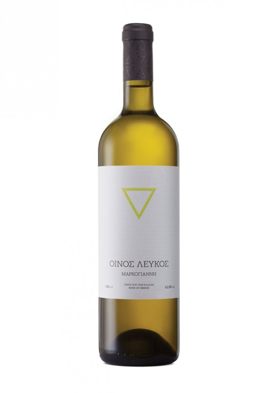 Greek wine label 4 Elements