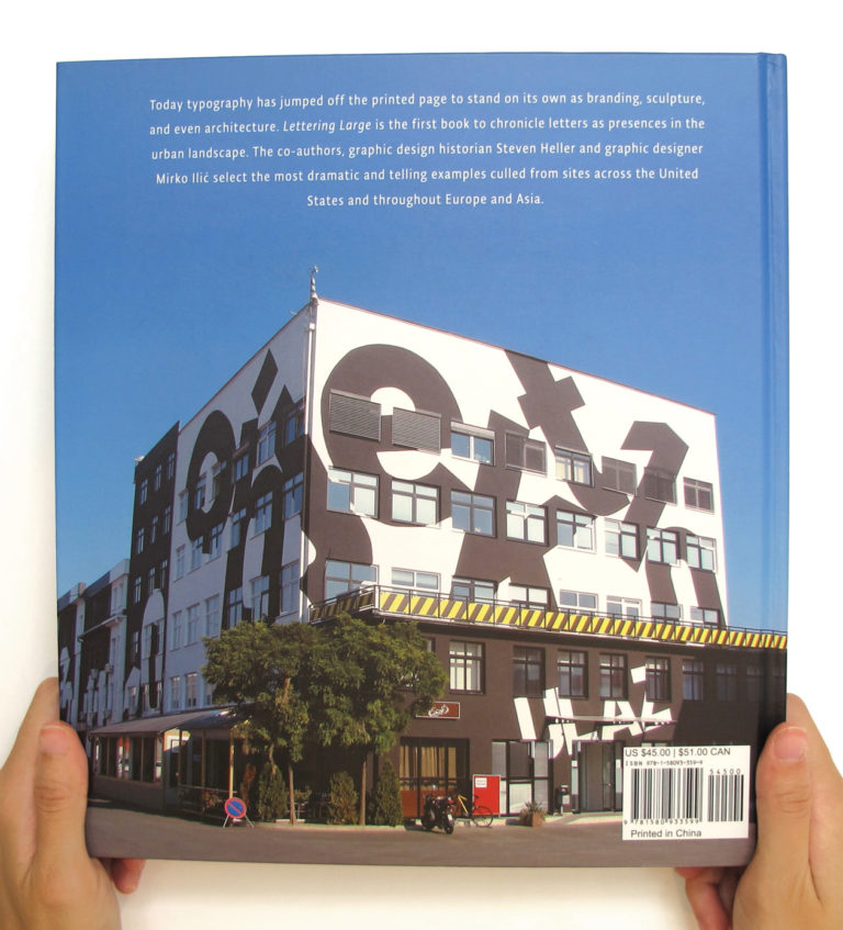 Steve Heller and Mirko Ilić New Book, Lettering Large