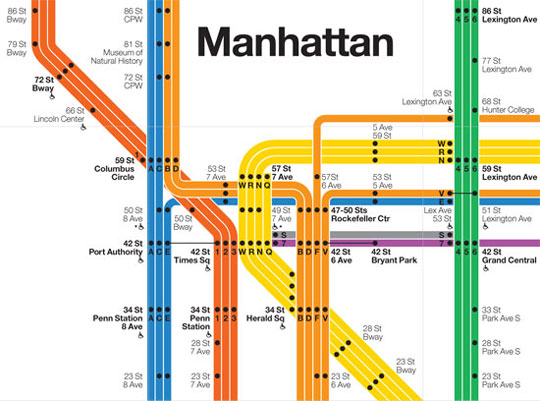 16subway-design by massimo vignelli