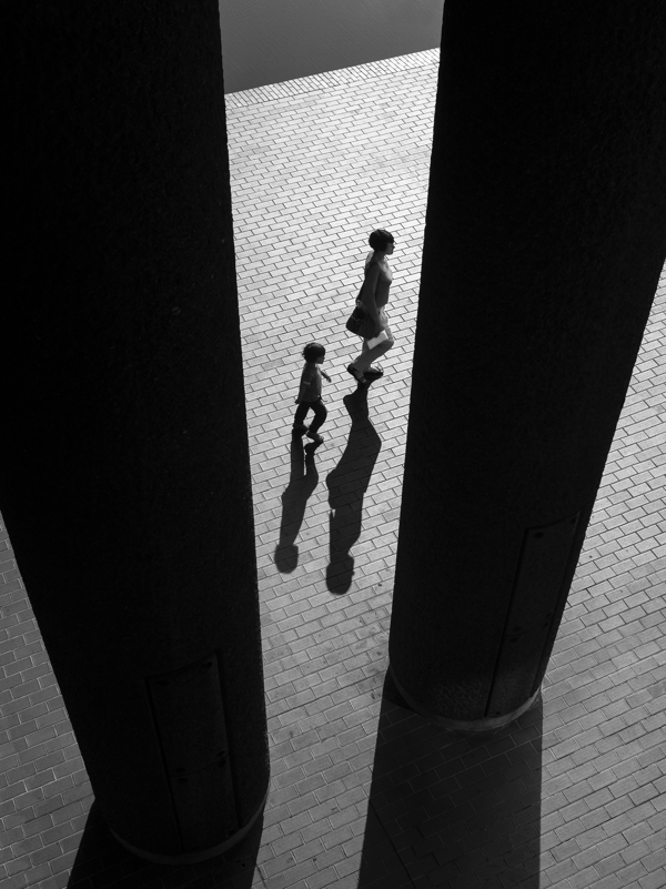 Rupert Vandervell, Mother and child