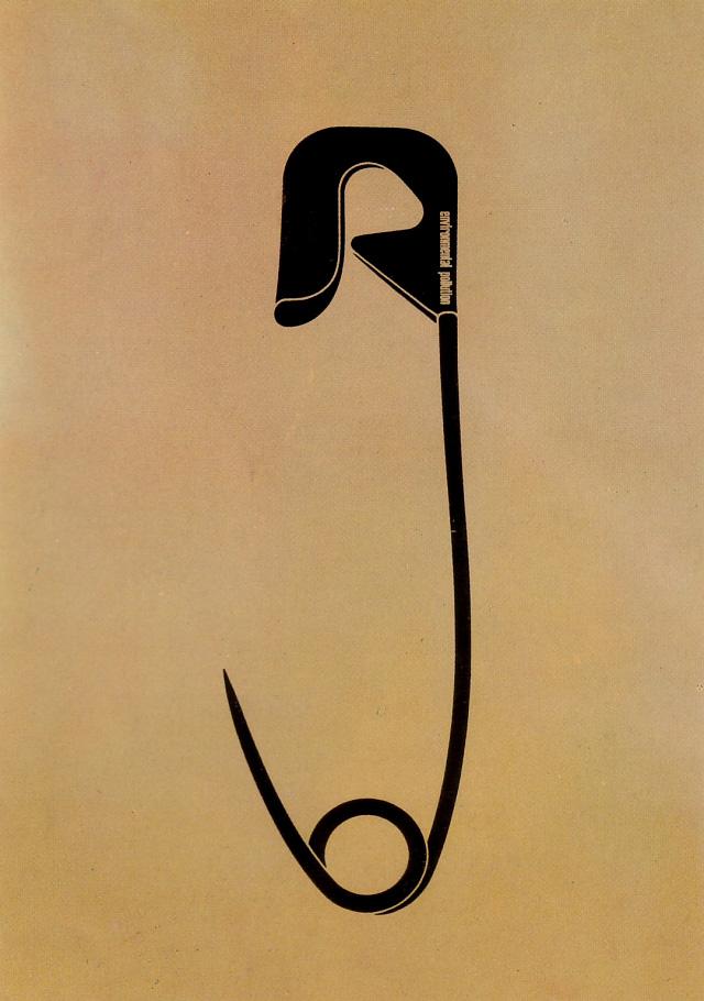 Environmental pollution (Shigeo Fukuda, 1973)4