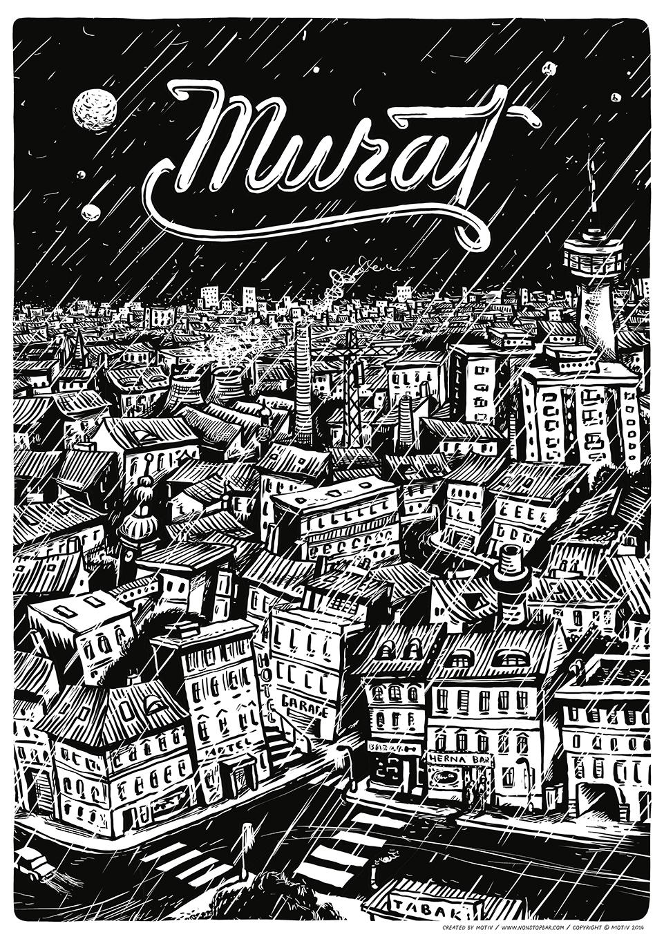 Murat-poster