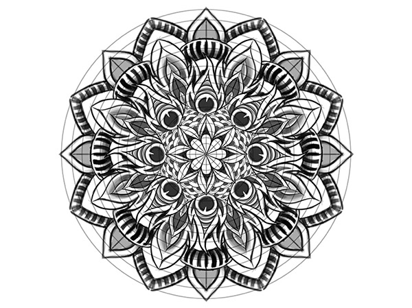 Pale - Horse - Illustrate a Custom Mandala-2