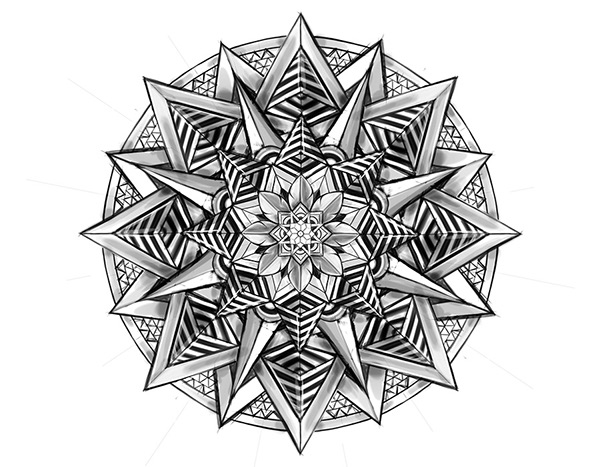 Pale - Horse - Illustrate a Custom Mandala-3