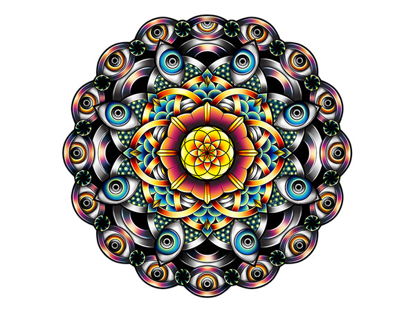Pale - Horse - Illustrate a Custom Mandala-4