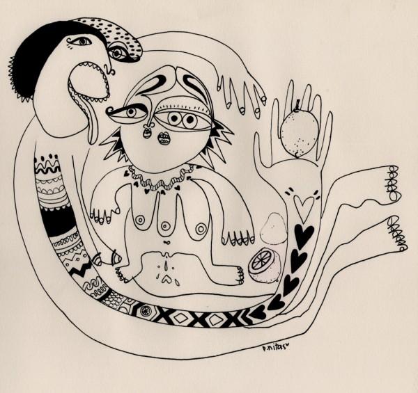 3lemonade-pnitas-illlustration-woman-scream-dibujo-feminismo
