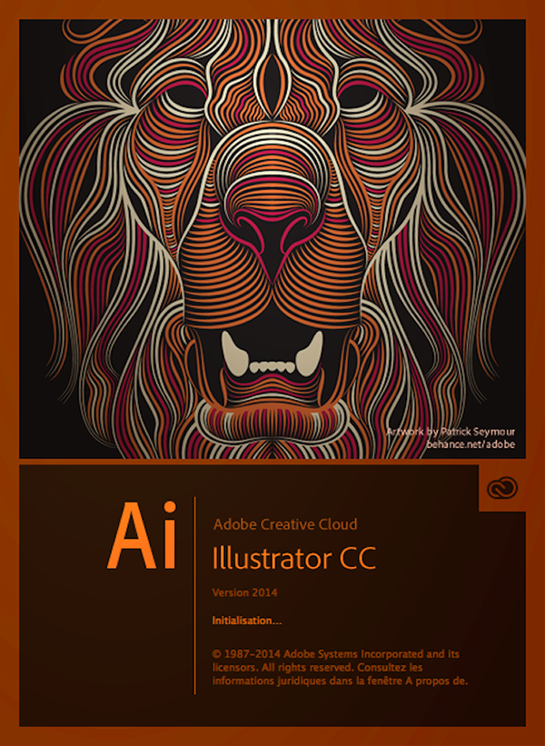 Creative Cloud Illustrator Lion (final) by Patrick Seymour