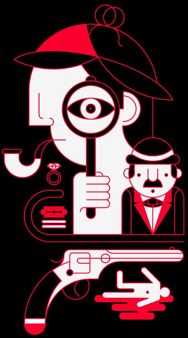 Crime scene by Patrick Seymour