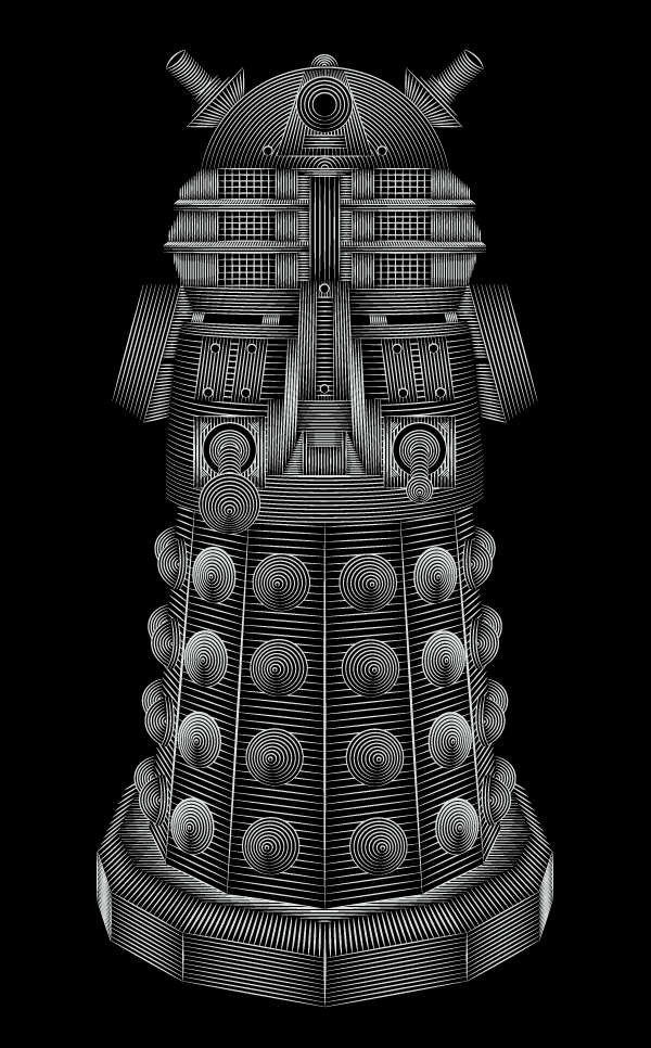 Doctor Who - Dalek by Patrick Seymour