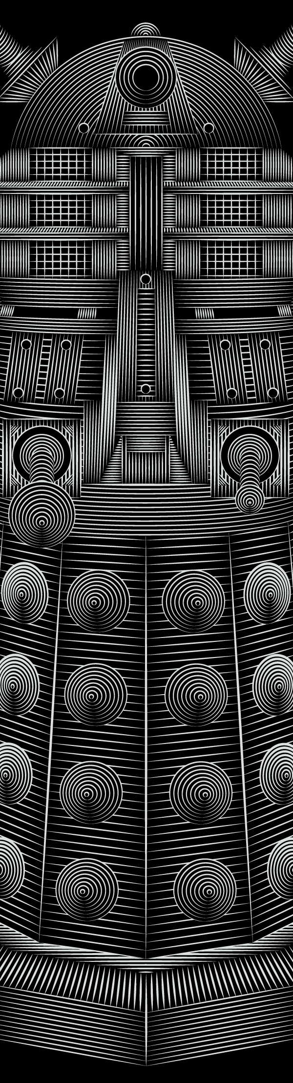 Doctor Who - Dalek (detail) by Patrick Seymour