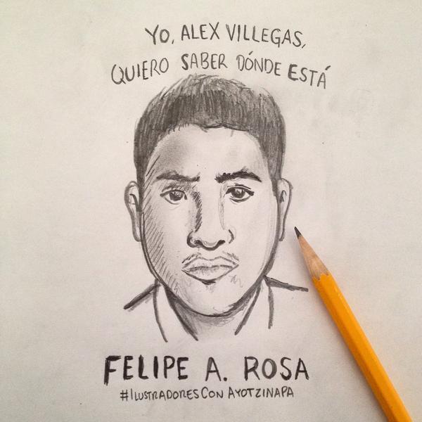 Yo, Alex Villegas, quiero saber dónde está Felipe Rosa