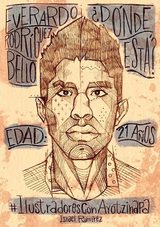 Yo, Israel Ramírez, quiero saber dónde está Everardo Ramírez Bello