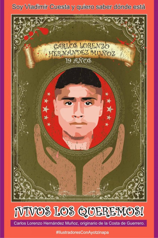 Yo, Vladimir Cuesta, quiero saber dónde está Carlos Lorenzo Hernández Muñoz