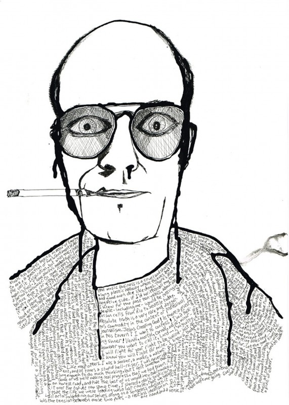 Hunter S Thompson small