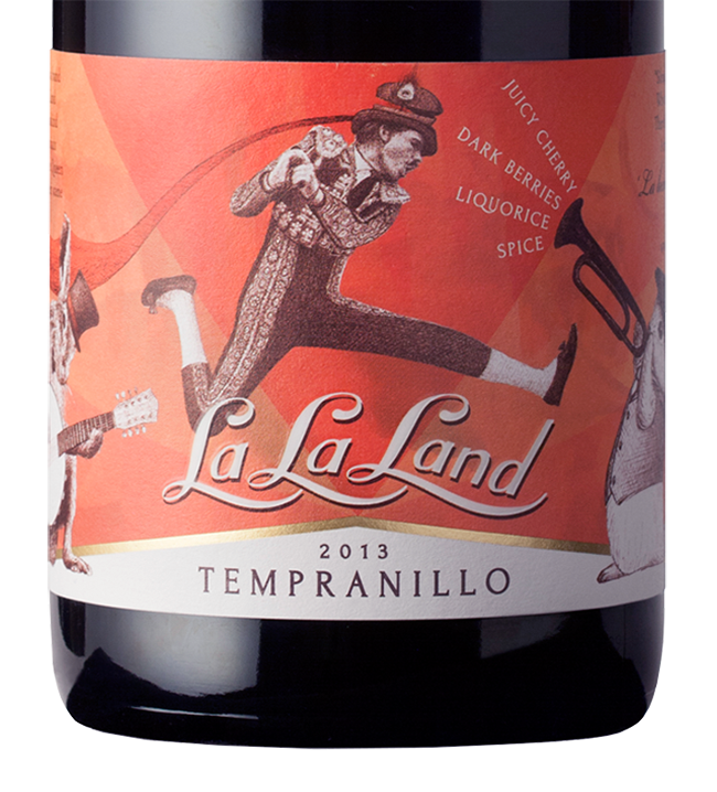 La La Land_Wine_Label_Design_Close