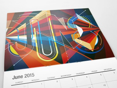 The Creative MWM 2015 Wall Calendar