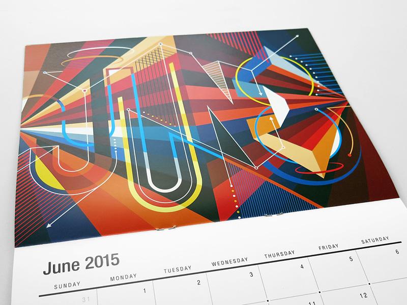 The Creative MWM 2015 Wall Calendar