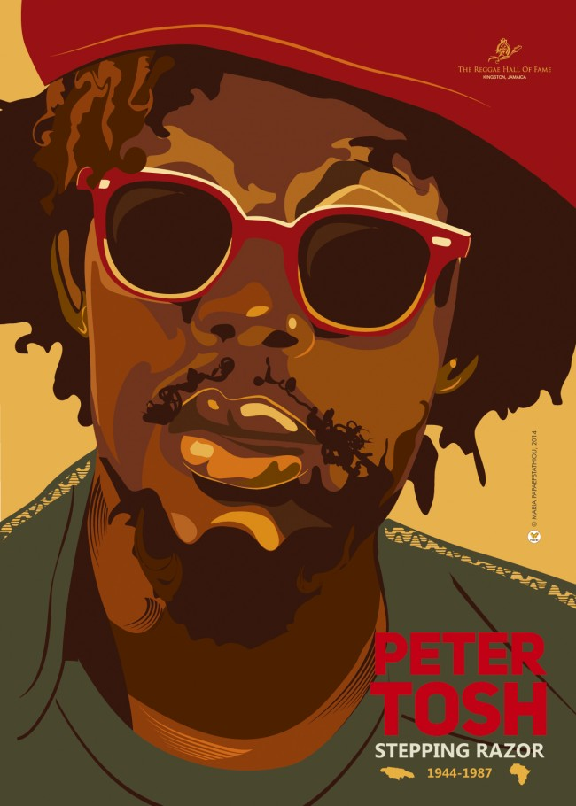 Peter Tosh  by Maria Papaefstathiou