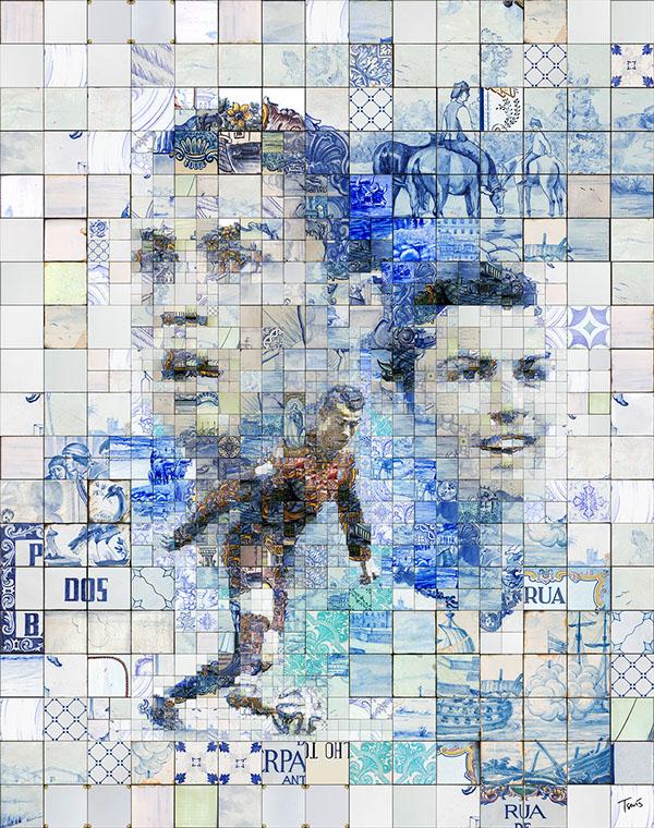 Cristiano Ronaldo by Charis Tsevis 08